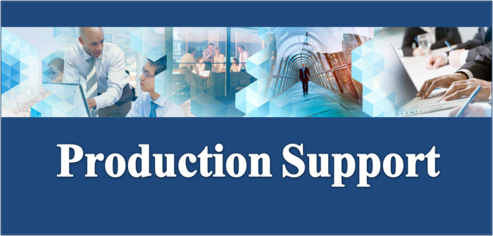 Production Support Banner Picture