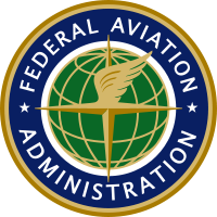 FAA logo and link to FAA Site