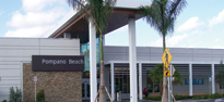 Picture of the Pompano Service Plaza