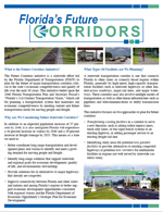 Florida's Future Corridors Brochure