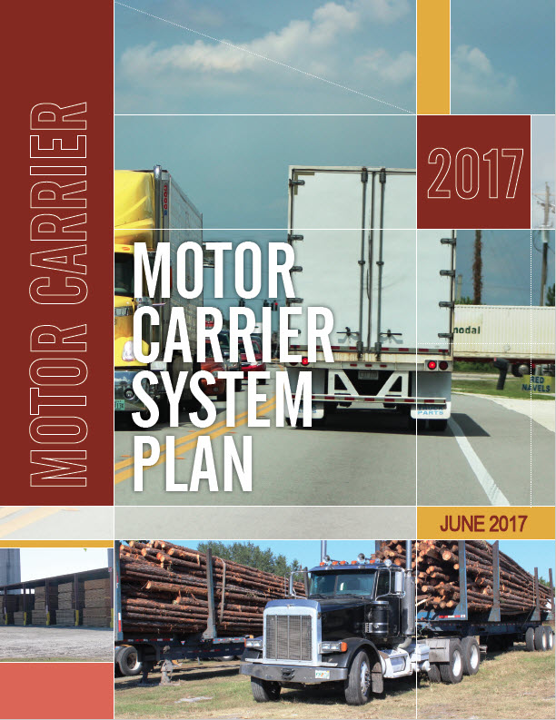Motor Carrier System Plan Cover