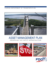 Cover of the Florida Transportation Asset Management Plan