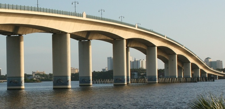 Picture of Broadway Bridge courtesy of www.seefloridago.com