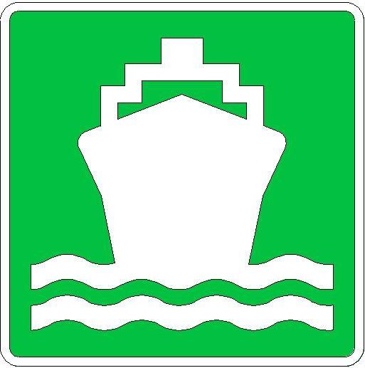 Passanger Ship Sign