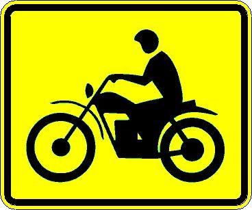 Motorcyle plaque