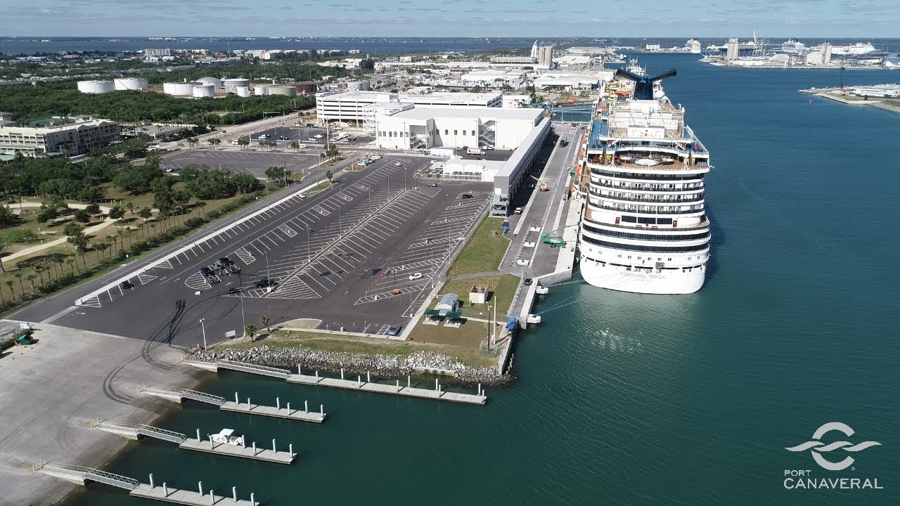 Port Canaveral Cruise Terminal 3, Apr 2020